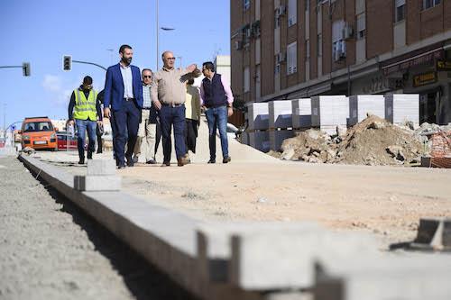Almería obras asfaltado calles