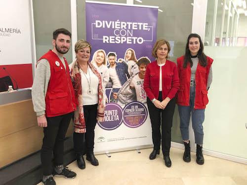 Almería punto violeta