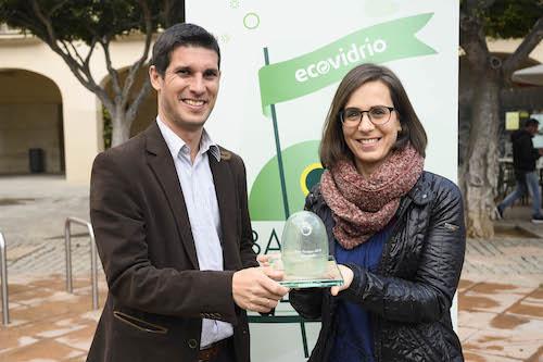 Almería recibe reconocimiento Ecovidrio