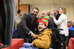 Almería Alcalde visita FAAM