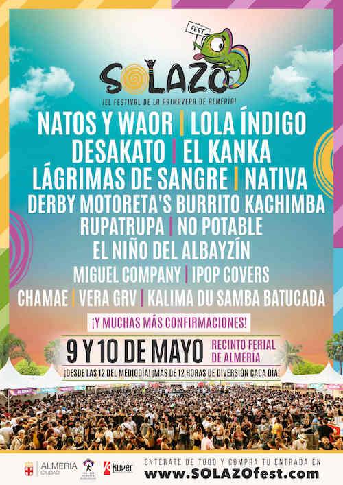 Almería cultura Solazo Fest