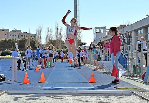 Almería deportes salto longitud