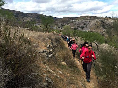 Deportes Ayuntamiento Almería senderismo