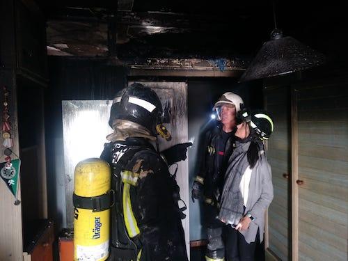 Almería bomberos incendio