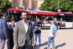 Alcalde Almería autobús UAL