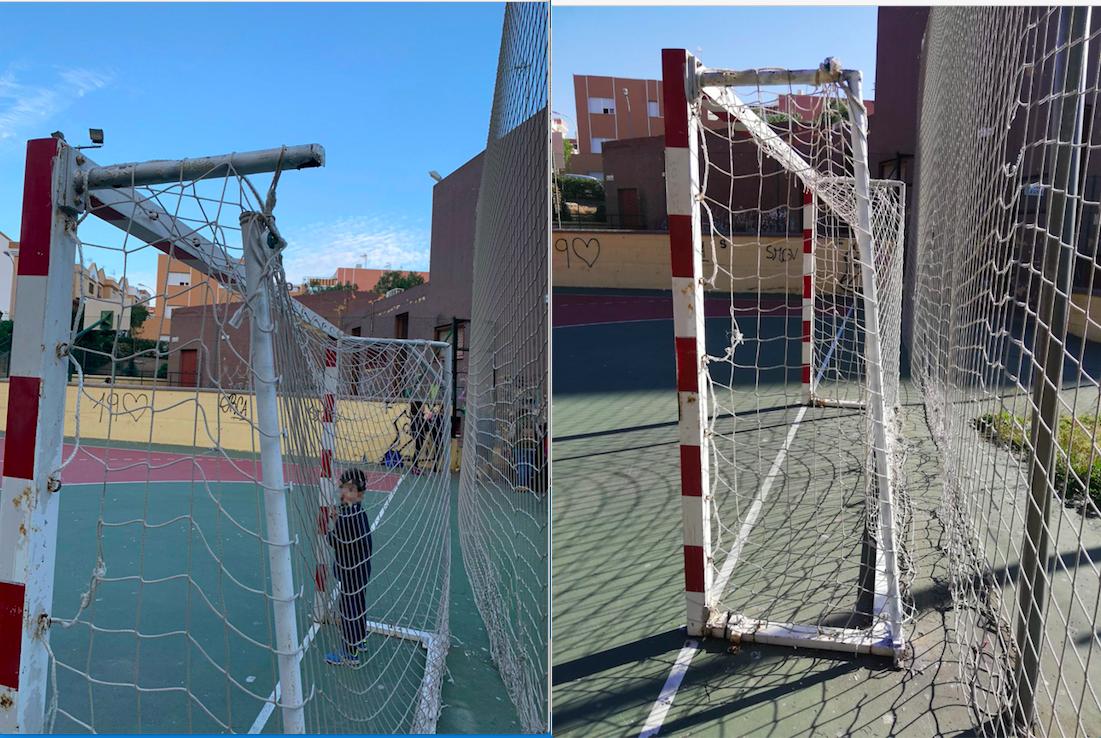 Ayuntamiento Almería arreglos deportes