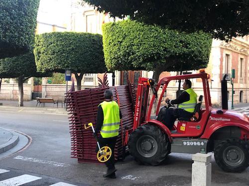 Almería seguridad Cabalgata Reyes