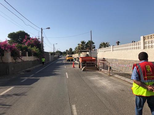 Obras asfaltado Almería