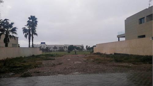 Almería urbanismo parcela Toyo
