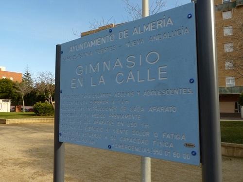 Nuevos parques Almería ciudad