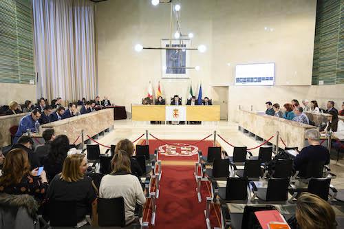 Ayuntamiento Almería pleno presupuestos
