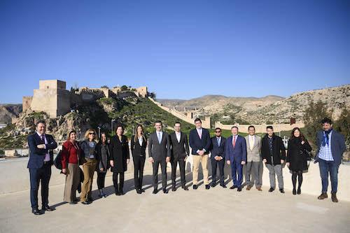 Alcalde Almería recepción Méjico