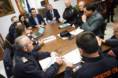 Seguridad Cabalgata Reyes Almería