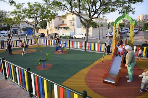 Nuevos parques infantiles Almería
