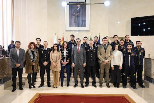 Toma posesión bomberos Almería