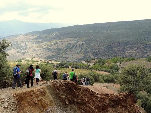 Almería deportes senderismo familiar