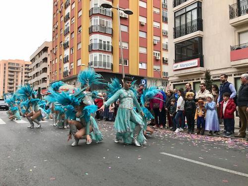 Desfile carnaval 2020 Almería