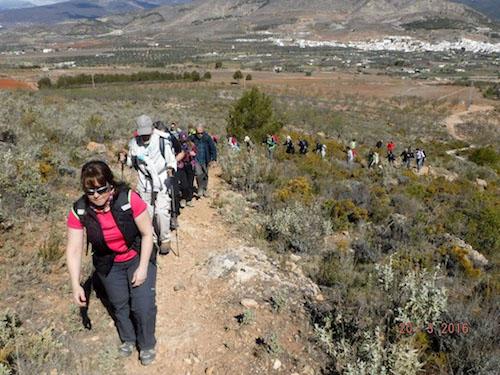 Almería deportes municipales senderismo