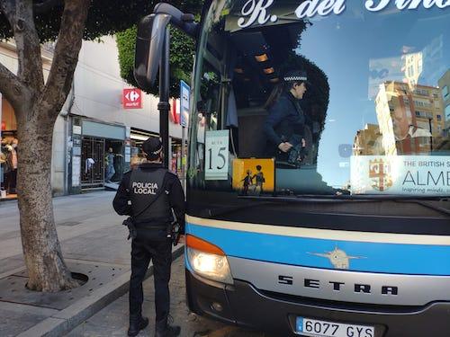 Campaña policía local Almería