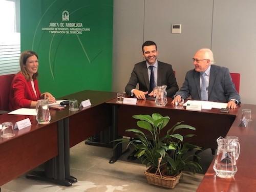 Alcalde Almería Consejería Fomento