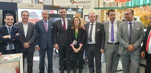 Alcalde Almería Fruit Logistica