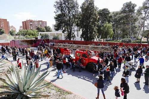 Almería bomberos puertas abiertas