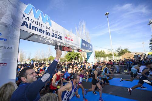 Media maratón Almería 2020