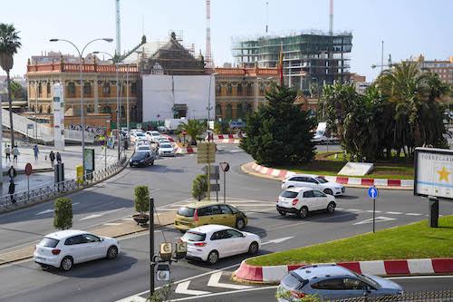 Rehabilitación estación ferrocarril Almería