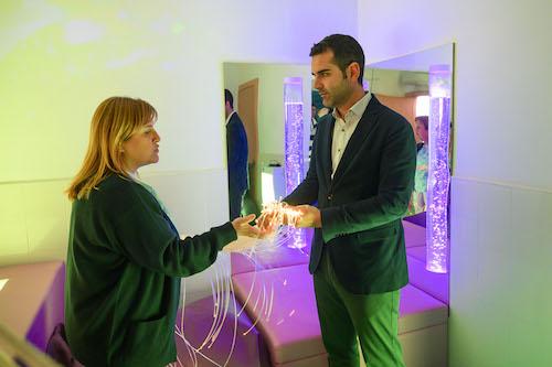 Sala sensorial Aspapros Almería