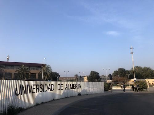 Urbanismo Almería obras UAL