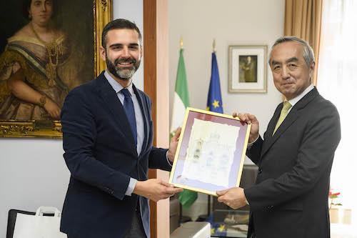 Visita embajador Japón Almería