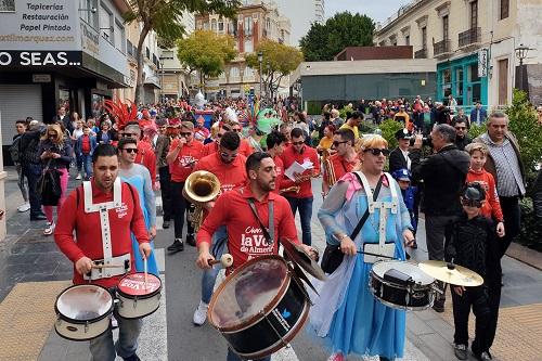 Almería carnaval entierro sardina