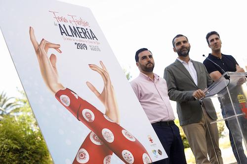 Ayuntamiento Almería cartel feria