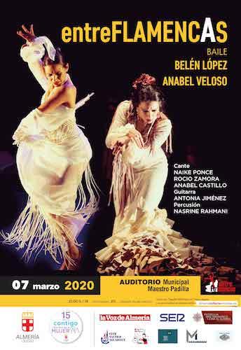 Almería cultura Entre Flamencas
