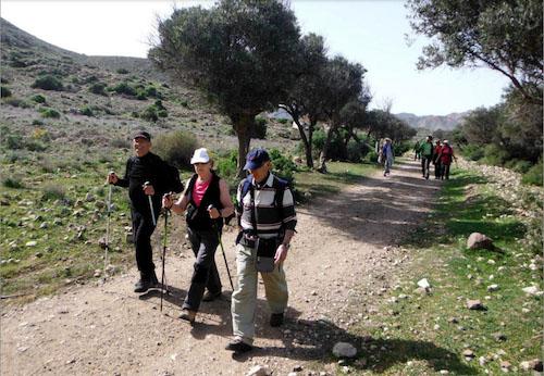 Almería deportes senderismo
