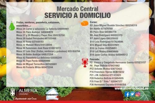 Mercado Almería servicio domicilio