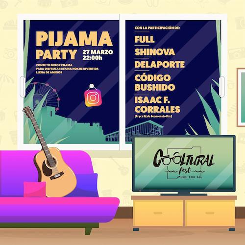 Cooltural Pijama party