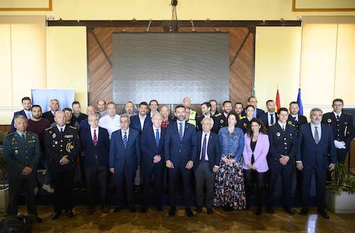 Policía portuaria Almería