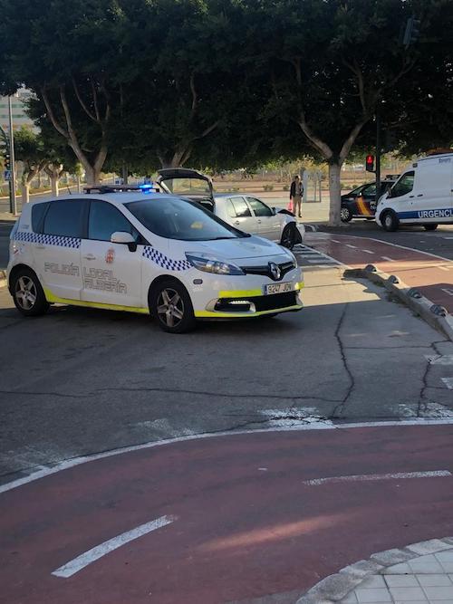 Policía local Almería coronavirus
