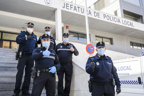 Donación mascarillas Altea Almería