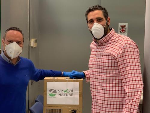 material protección coronavirus Almería