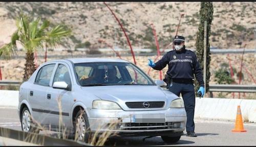 Control Policía Local Almería