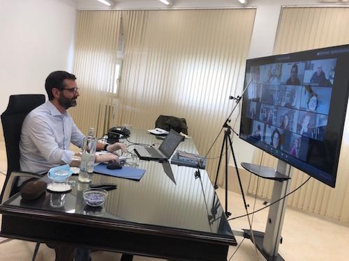 Alcalde Almería reuniones virtuales