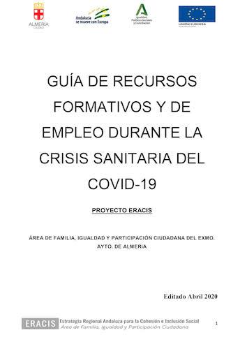 Empleo Almería crisis coronavirus