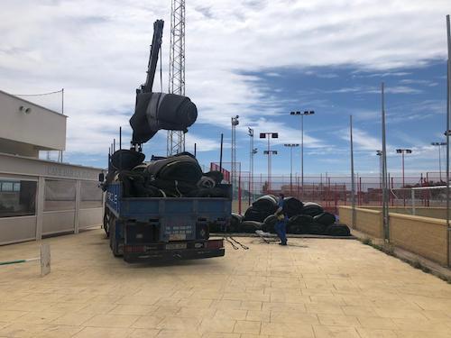 Renovación cesped Almería deportes