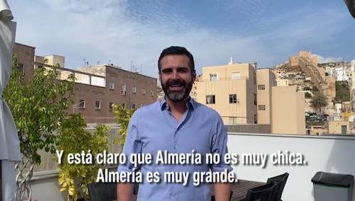 Alcalde Almería video gracias