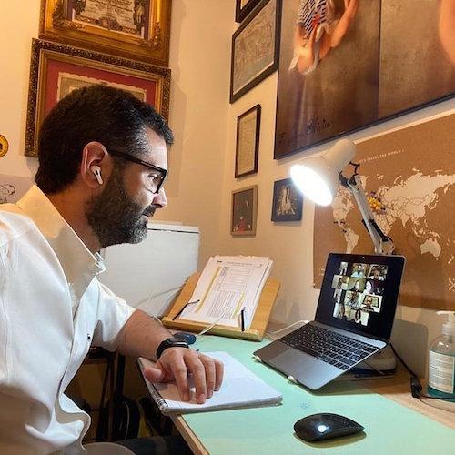 Alcalde Almería reunión coronavirus