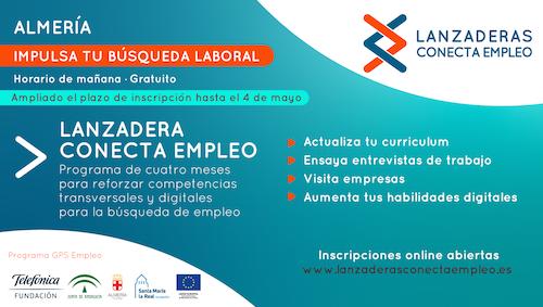 Lanzadera Conecta empleo Almería