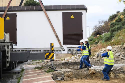 Transformador electricidad Almería