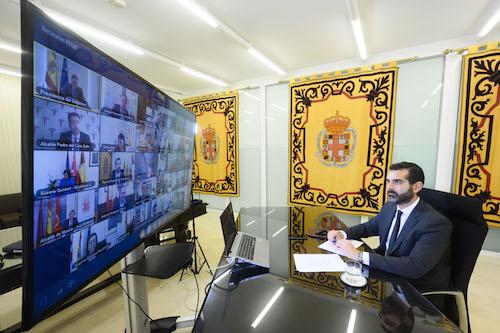 Presidente Gobierno y Alcalde Almería